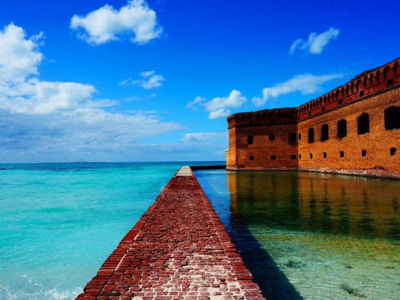 dry tortugas historical sites yachting