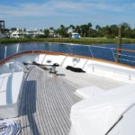 victory yacht fore deck