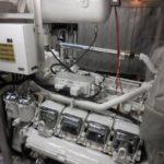 victory yacht engine