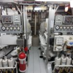 victory yacht engine room